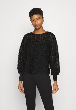 VILITTA NEW  - Long sleeved top - black