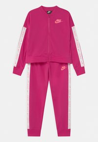 Nike Sportswear - SET - Tepláková souprava - fireberry/sunset pulse - 0