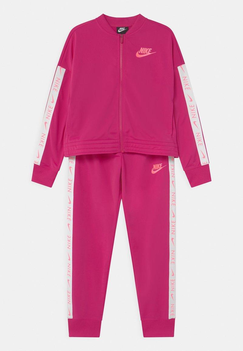 Nike Sportswear - SET - Tepláková souprava - fireberry/sunset pulse