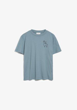 MIAA PRAISE  - Print T-shirt - soft moss
