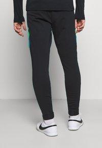Nike Performance - DRY ACADEMY PANT  - Tracksuit bottoms - black/dark teal green/green strike - 2