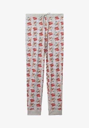 MIT TOM&JERRY - Pyjama bottoms - grigio mel.chiaro st.tom&jerry allover