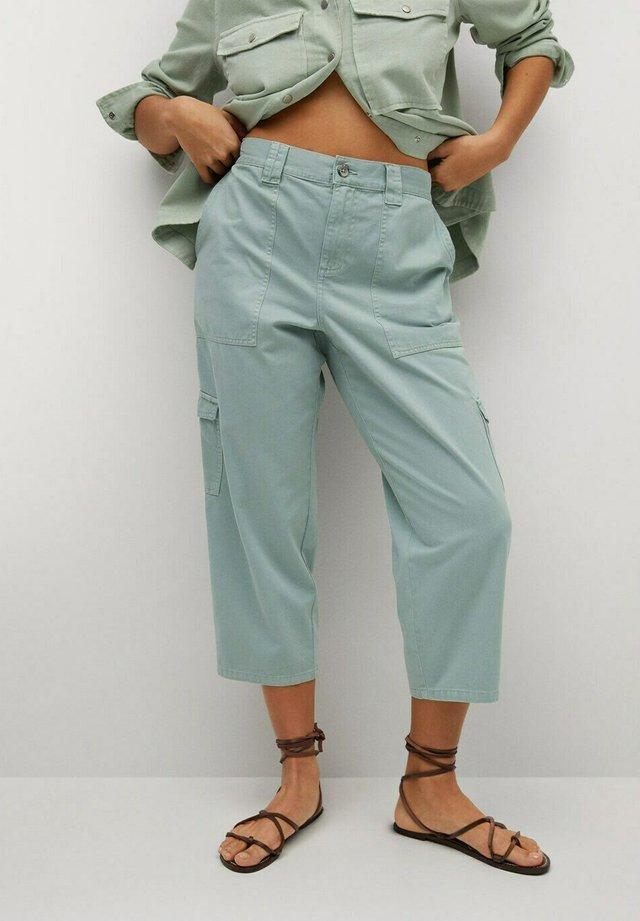 KARGO - Jeans baggy - wassergrün
