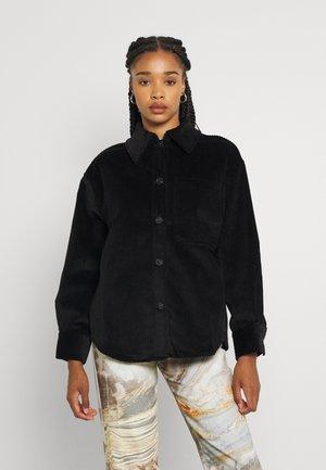 HARLEE OVERSHIRT - Summer jacket - black