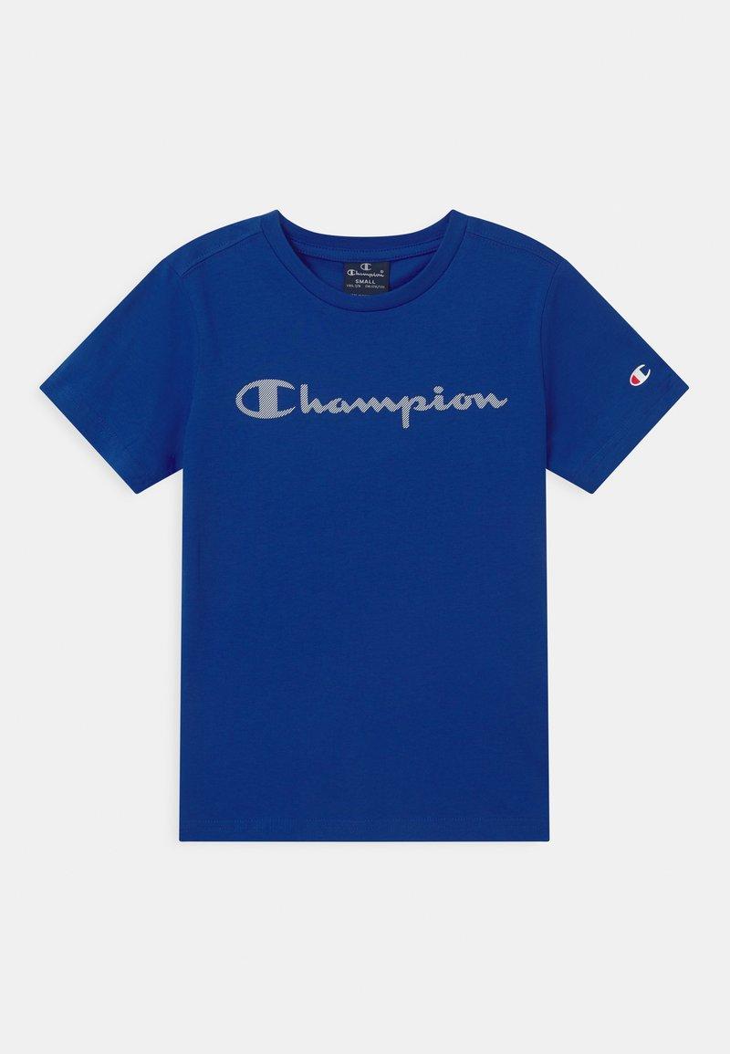 Champion - LEGACY AMERICAN CLASSICS CREWNECK UNISEX - Triko spotiskem - royal blue