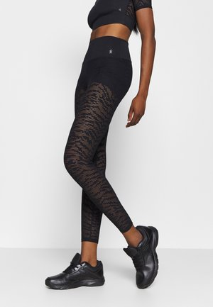 ZEBRA LEGGING - Leggings - black