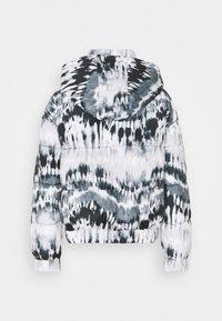 Missguided - TIE DYE PUFFER - Winter jacket - black - 1