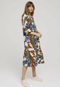 TOM TAILOR - Day dress - multicolor botanical design - 0