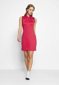 Callaway - SOLID GOLF DRESS - Sukienka sportowa - virtual pink - 1
