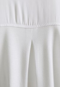 mine to five TOM TAILOR - FABRIC MIX WITH COLLAR - Tunic - white - 2