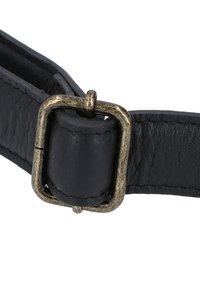 Gusti Leder - ACTON - Bum bag - black - 5