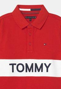 Tommy Hilfiger - BLOCKING  - Polo - deep crimson - 2