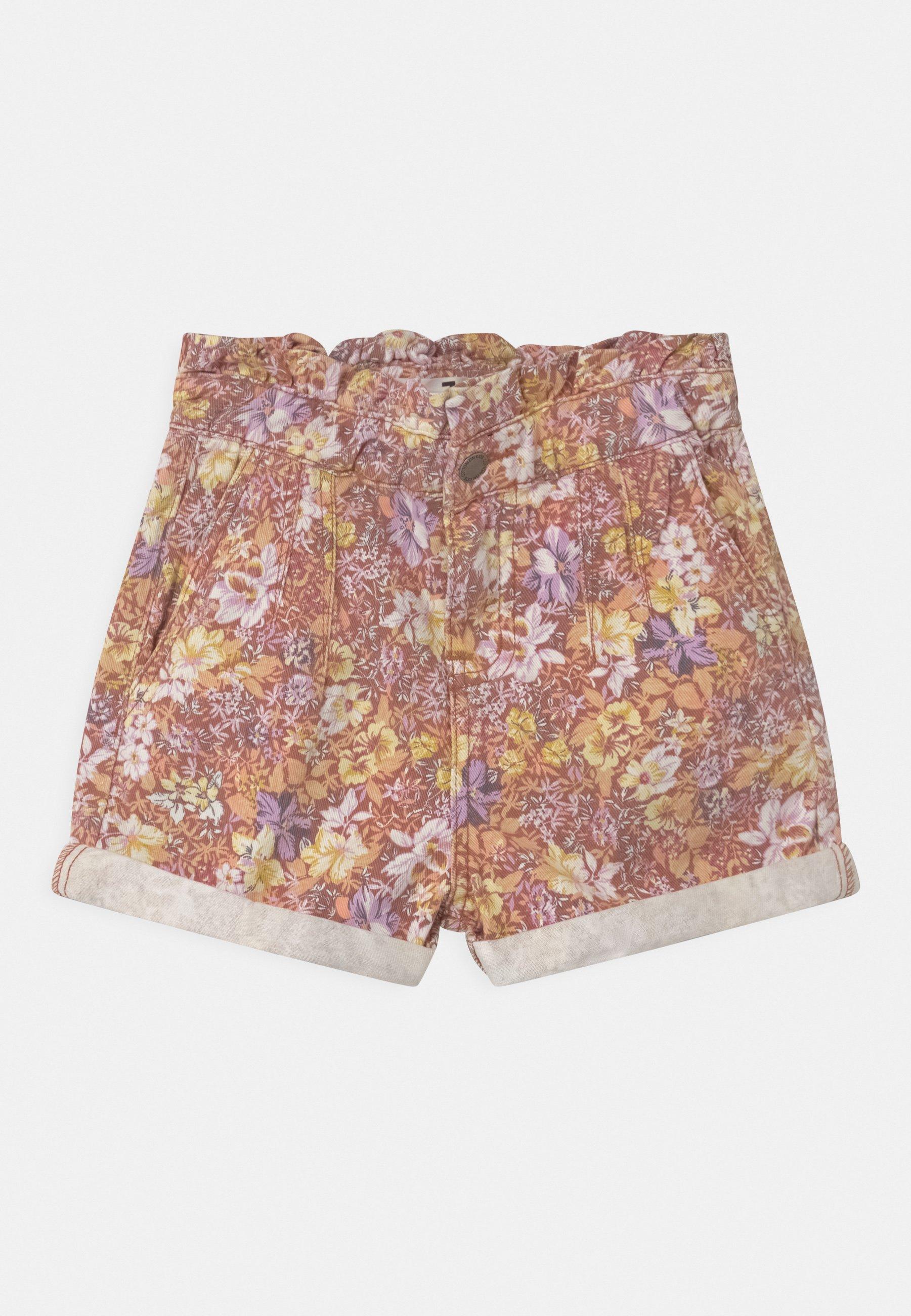 Kids PETA PAPERBAG - Denim shorts