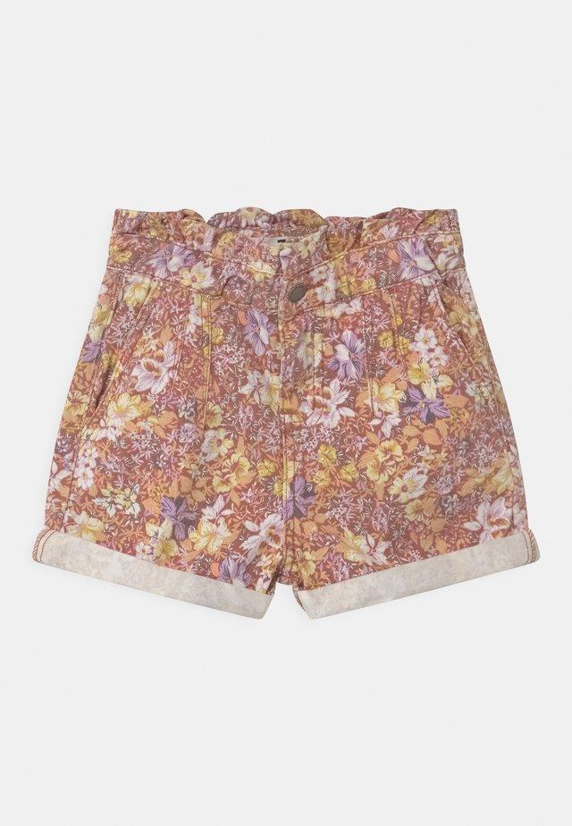 PETA PAPERBAG - Shorts di jeans - vanilla