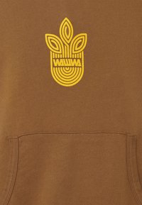 WAWWA - UNISEX LEAF HOOD - Sweatshirt - bark brown - 5