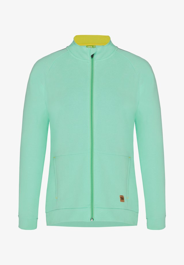 TAO TECHNICAL WEAR COULETTO DAMEN FREIZEITJACKE AUS BIO BAUMWOLL - Fleece jacket - neo mint
