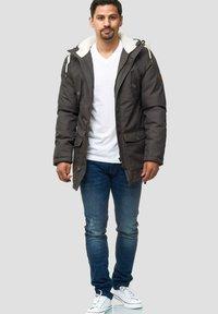 INDICODE JEANS - Winter coat - gray - 1