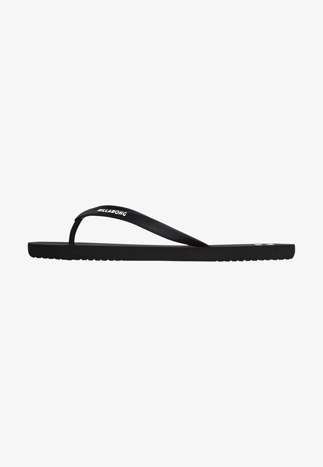 TIDES SOLID - Tongs - black