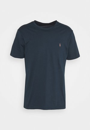 BRACE CONTRAST CREW - Jednoduché triko - sapphire blue
