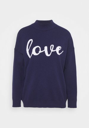 LOVE - Pullover - ink