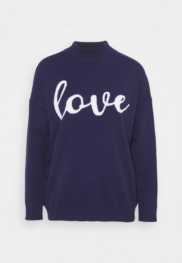 LOVE - Strikpullover /Striktrøjer - ink
