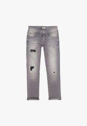 Slim fit jeans - mid grey stone
