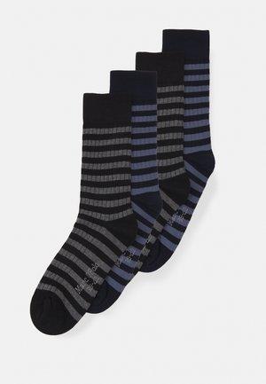 SOCKS 4 PACK - Sokken - dark blue/black