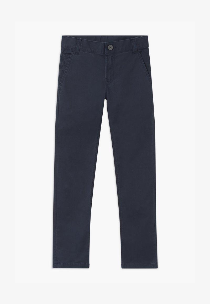 BOSS Kidswear - Chino kalhoty - navy