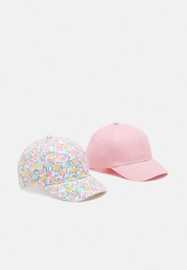 NKFBITTEN 2 PACK - Casquette - silver/pink