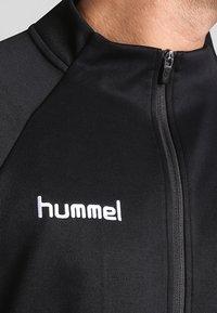 Hummel - AUTH CHARGE ZIP - Træningsjakker - black - 3