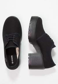 Victoria Shoes - ZAPATO LONA PISO - Kotníková obuv - black - 2