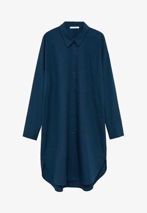 OVER - Button-down blouse - námořnická modrá