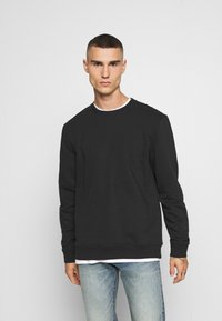 Only & Sons - ONSVINCENT CREW NECK - Bluza - solid black - 0