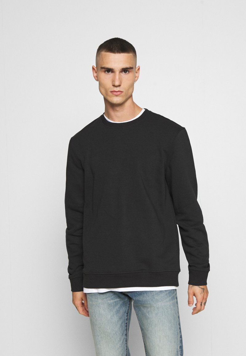Only & Sons - ONSVINCENT CREW NECK - Bluza - solid black