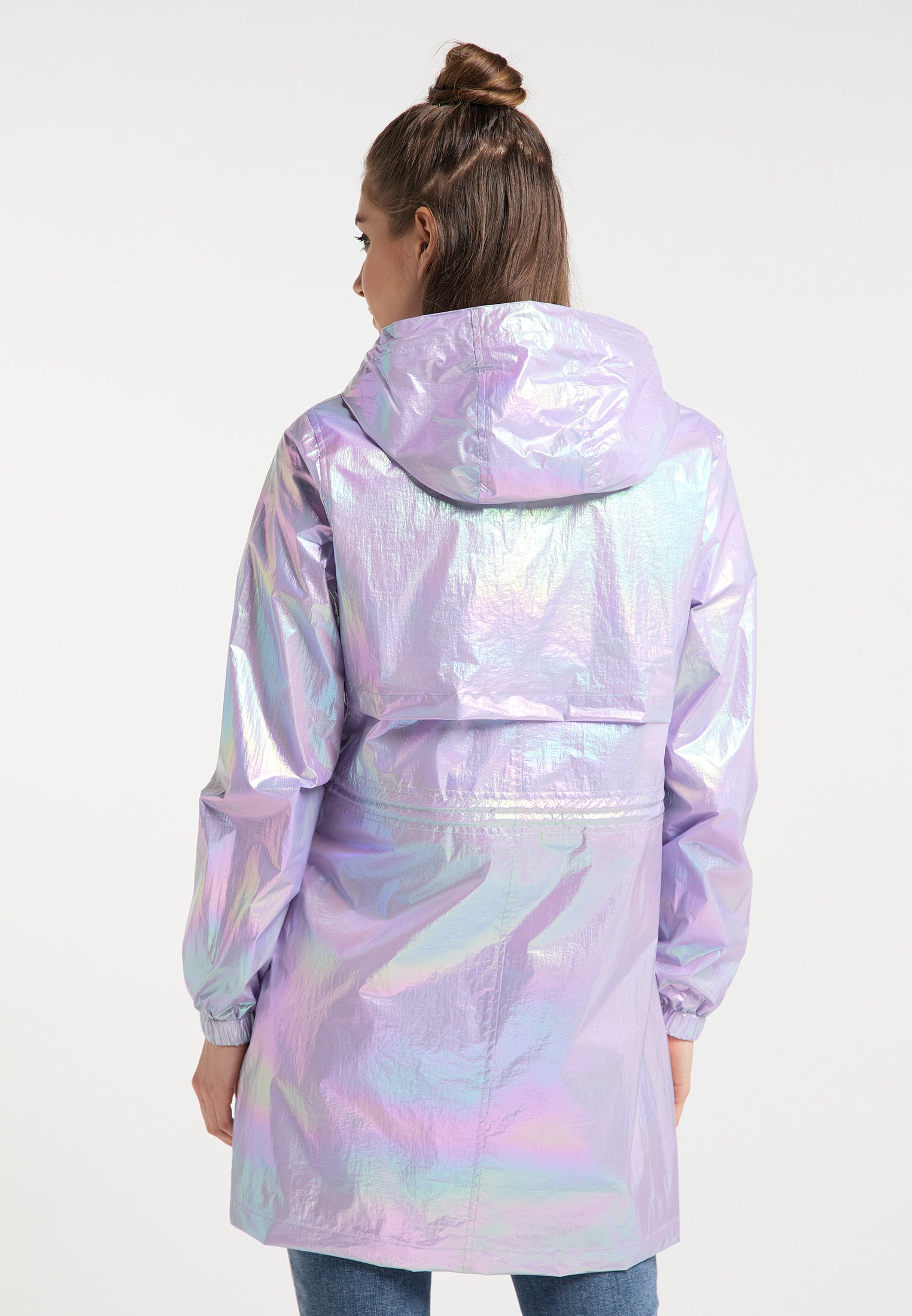HOLOGRAPHIC Parka lilac