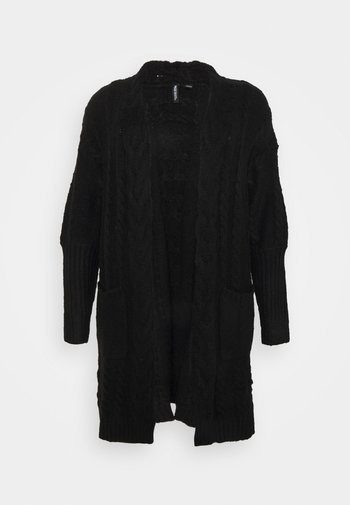 COSY DEEP CUFF CABLE CARDIGAN NEW CABLE