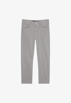 Slim fit jeans - medium grey melange