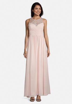 MIT STICKEREI - Cocktail dress / Party dress - pale rose