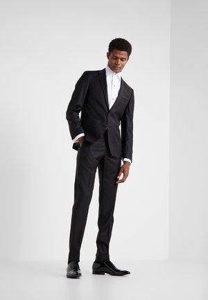 SUIT VIBRANT - Oblek - black