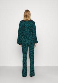 Diane von Furstenberg - CASPIAN PANTS - Trousers - medium teal - 2