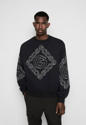 3D LOGO CREWNECK - Sweatshirt - black