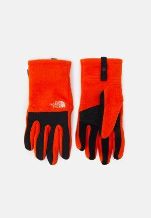 DENALI ETIP GLOVE UNISEX - Gloves - red orange