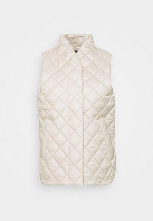 VEST VENDELA - Waistcoat - light beige
