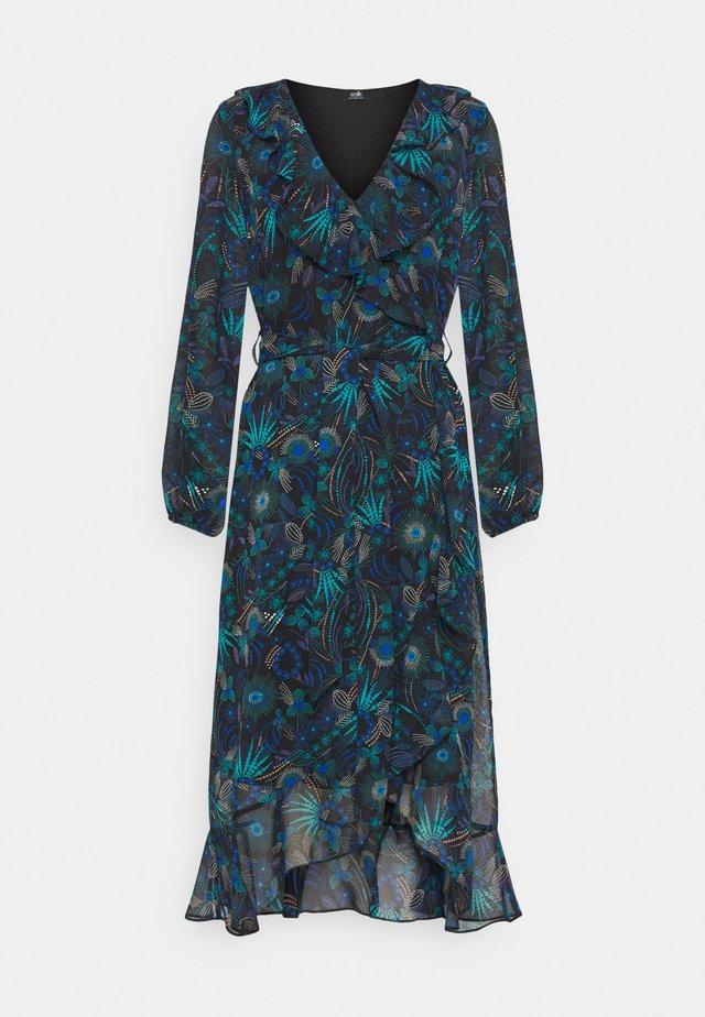 FIREWORK FRILL DRESS - Sukienka koktajlowa - blue