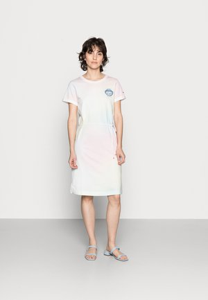ONE PLANET DRESS - Jerseykjole - pastel multi