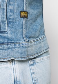 G-Star - 3301 SLIM - Denim jacket - denim/sun faded stone - 5
