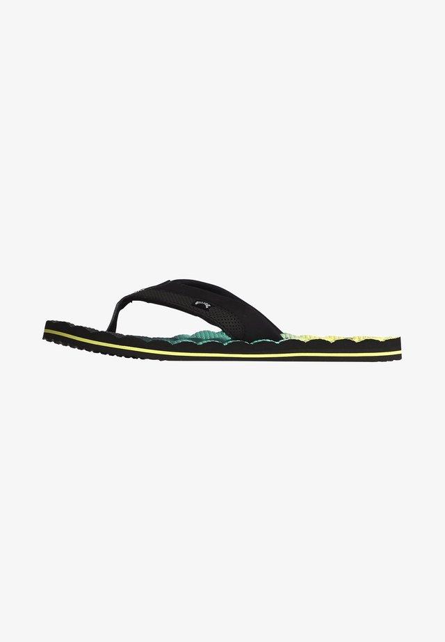 DUNES FADE  - T-bar sandals - citrus