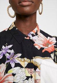 Mavi - Button-down blouse - antique white chain flower print - 5