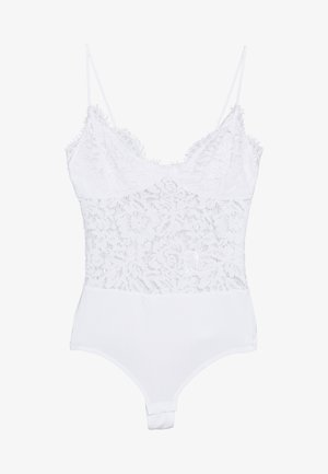 PCAURA STRAP BODYSTOCKING  - Body - bright white