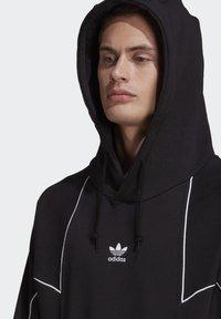 adidas Originals - BIG TREFOIL ABSTRACT HOODIE - Hoodie - black - 5